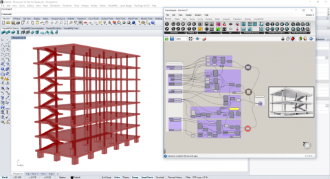 VisualARQ adds flexible BIM features to Rhino, and speeds up the process of modeling an architectural project in 2D and 3D.