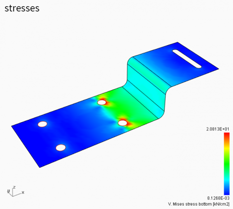 Concha is a Rhino3D plug-in for the numerical analysis of shell structures based on the Finite Element Method.